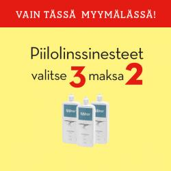 Piilolinssinesteet 3for2