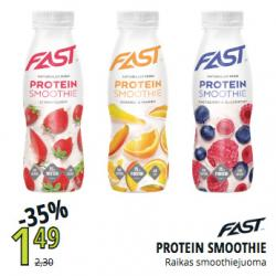 Fast proteiinismoothie