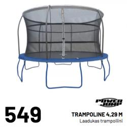 POWER JUMP TRAMPOLINE 4, 29M