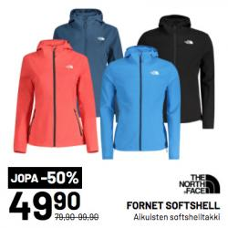 THE NORTH FACE FORNET SOFTSHELL