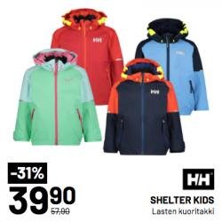 HELLY HANSEN SHELTER KIDS