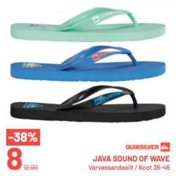 Quiksilver, Java sound of wave