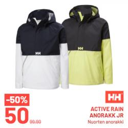 Helly Hansen, Active rain anorakk JR