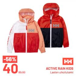 Helly Hansen, Active rain kids