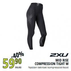 Mid Rise Compression Tight W