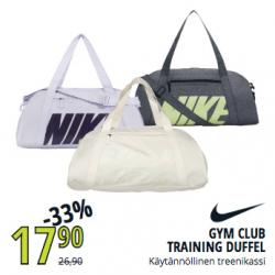 Gym Club Training Duffel