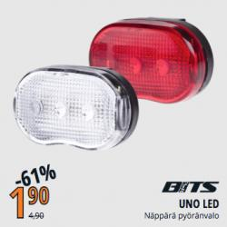 UNO LED FRONT/REAR LIGHT