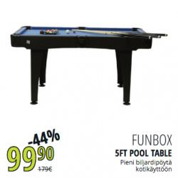 Funbox 5FT Pool Table